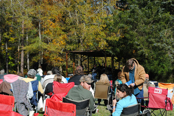 Bring your lawn chair to enjoy all the wonderful bands against this beautiful Autumn backdrop